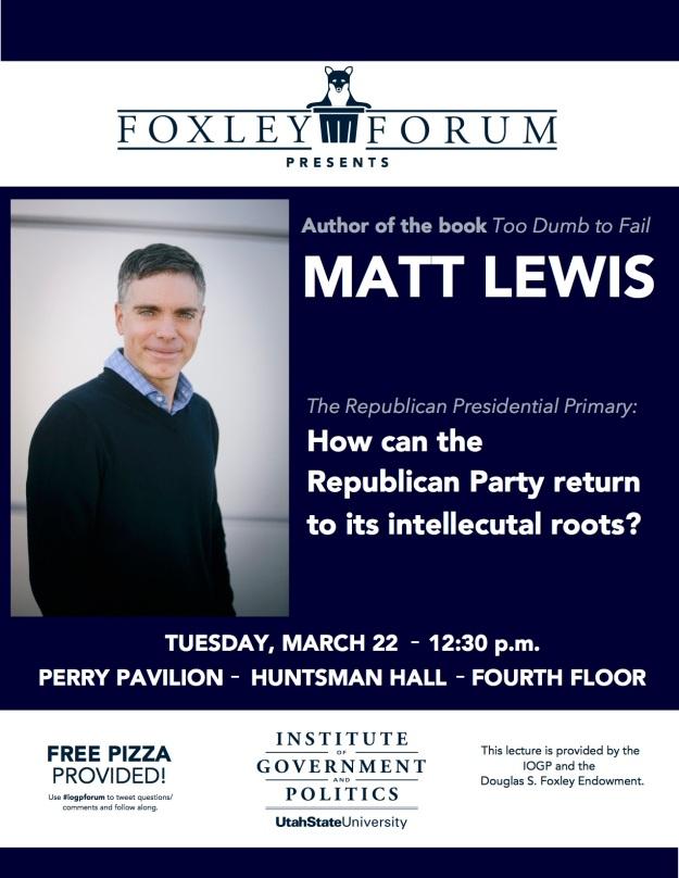 Matt Lewis foxley