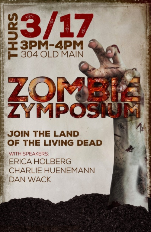 Zombie Symposium Poster