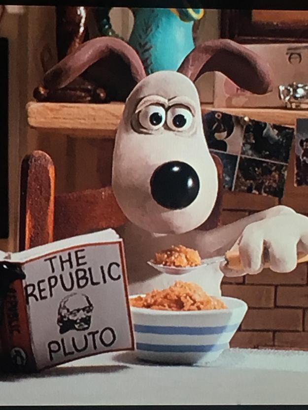 Pluto & Gromit